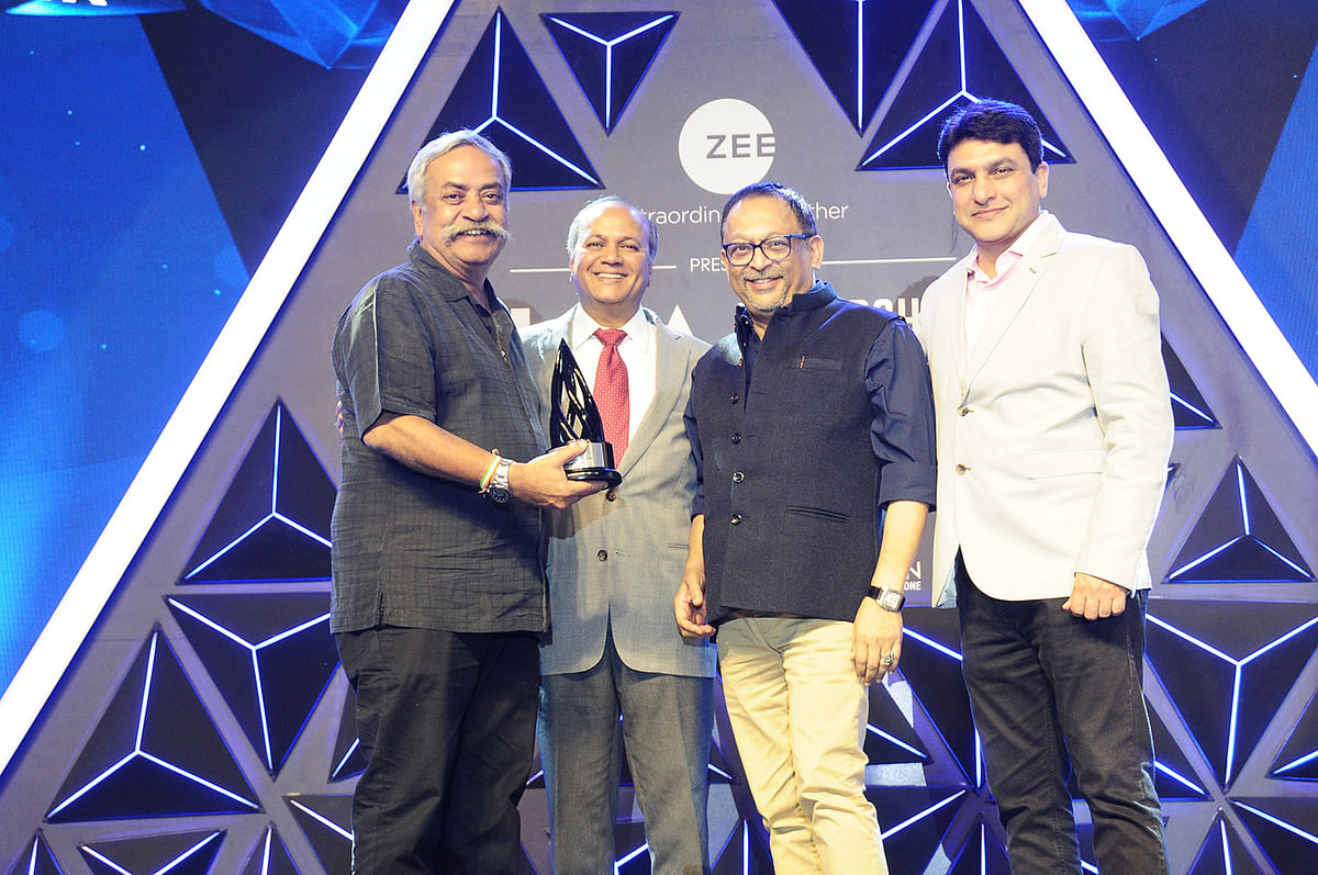 The IAA Creative Agency Leader of the Year was presented  to Piyush Pandey, Ogilvy