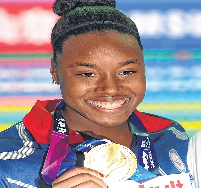 Freestyle gold for Simone Manuel