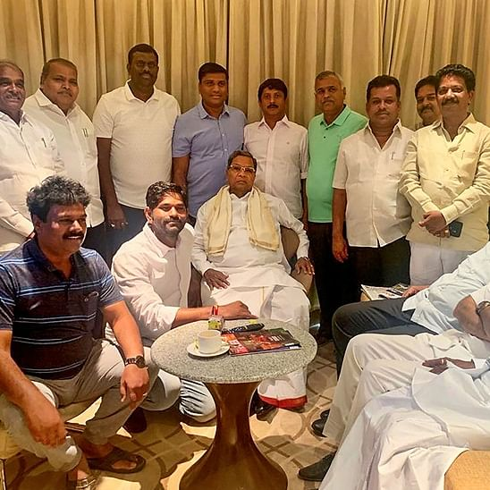 Karnataka crisis: Siddaramaiah holds meeting with rebel MLA Ramalinga Reddy