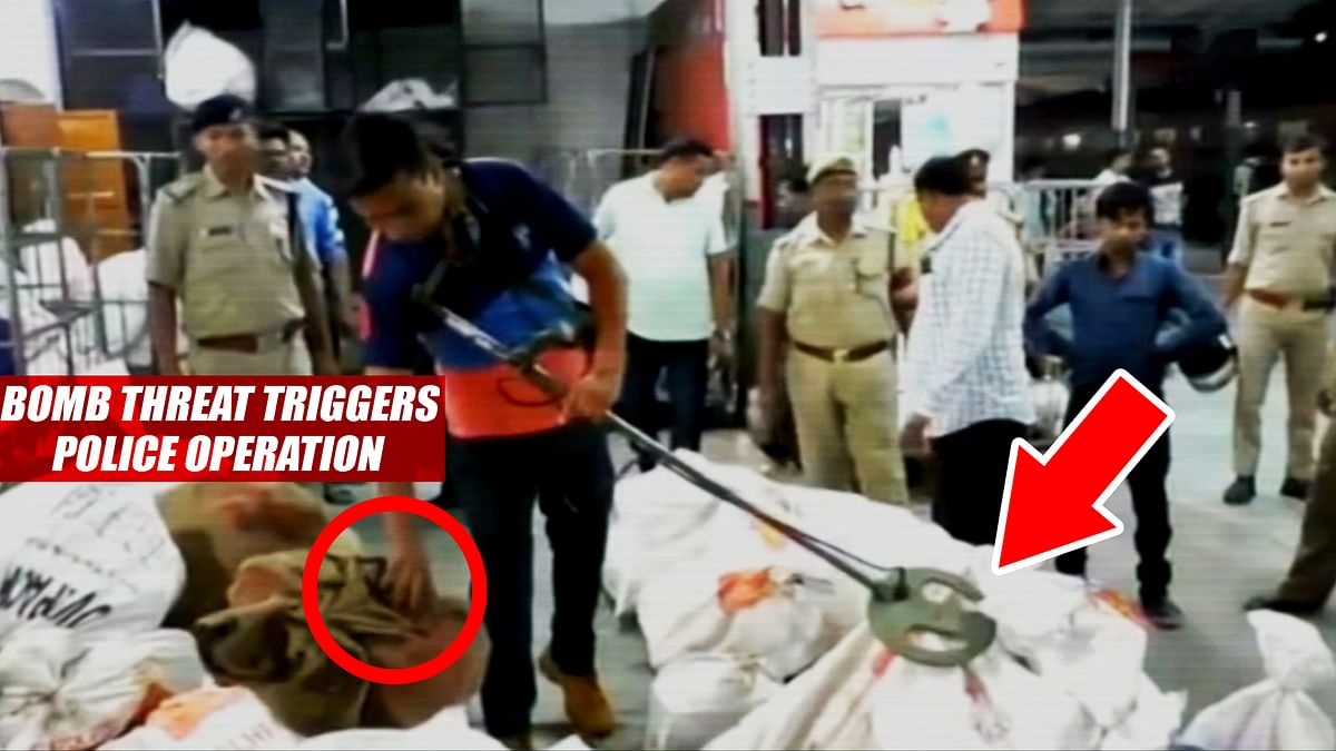 Bomb Threat Triggers Police Operation At Bareilly Junction