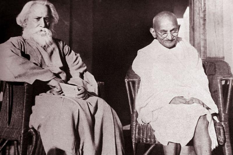 Mahatma Gandhi, Rabindranath Tagore, Modernity