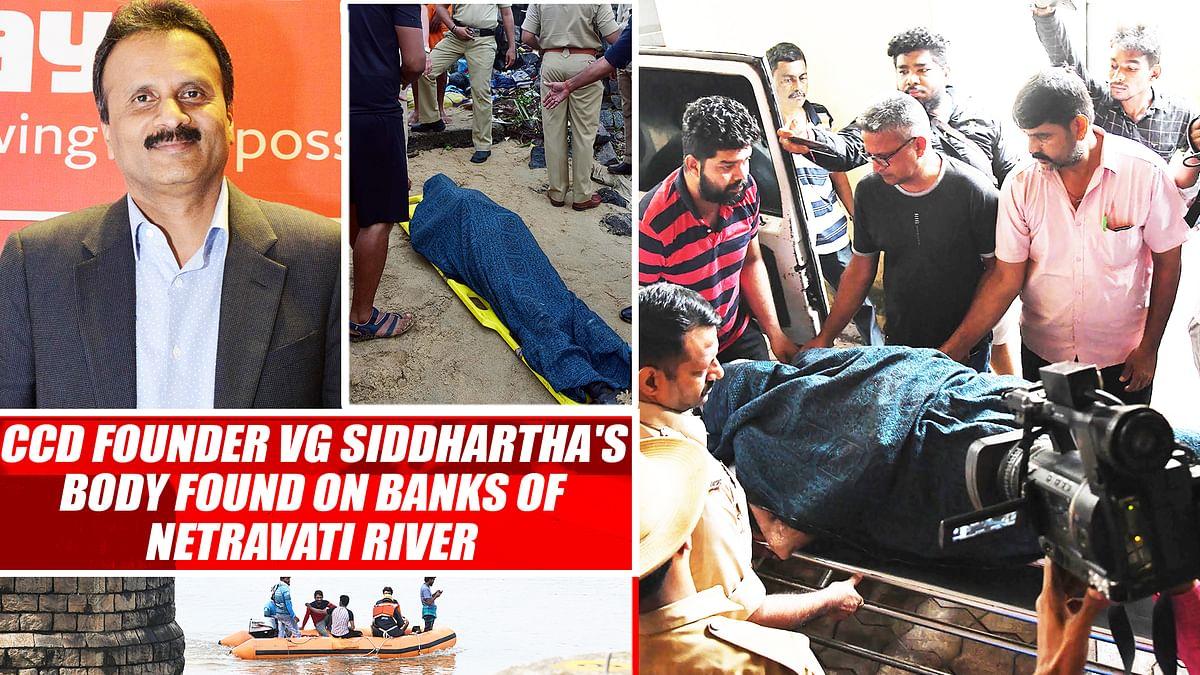 CCD founder VG Siddhartha's Body Found On Banks Of Netravati River