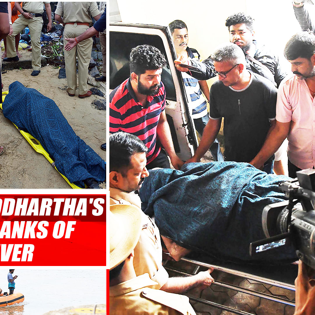 CCD founder VG Siddhartha's Body Found On Banks Of Netravati River