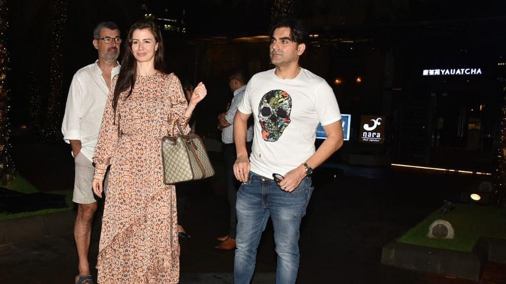 Arbaaz Khan and Giorgia Andriani