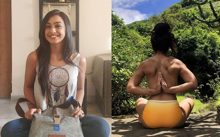 TV actress Abigail Pande goes nude for Yoga, advocates #NudeIsNormal