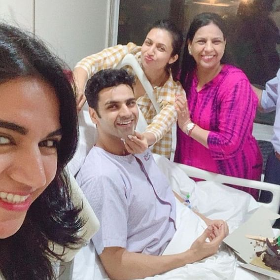 Divyanka Tripathi, Vivek Dahiya celebrates third wedding anniversary in hospital