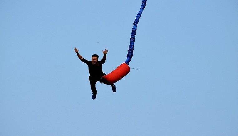 Get Set to Bungy jump in Goa!