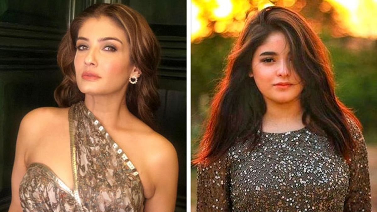 Exit gracefully and keep regressive views to themselves: Raveena Tandon on Zaira Wasim's exit