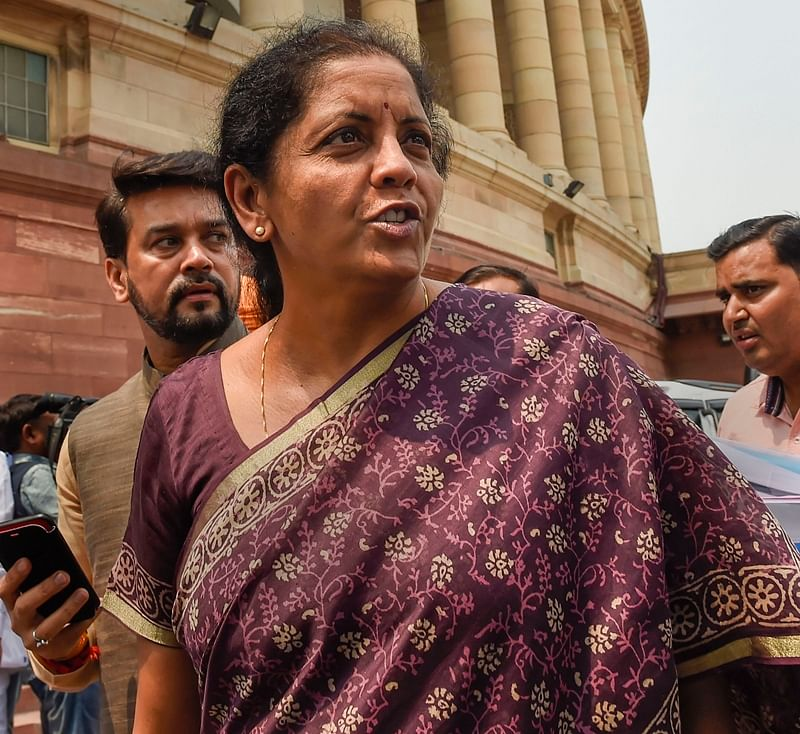 Blueprint for national gas grid, water grid will be unveiled: FM Nirmala Sitharaman