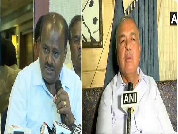 HD Kumaraswamy meets Ramalinga Reddy in Bengaluru