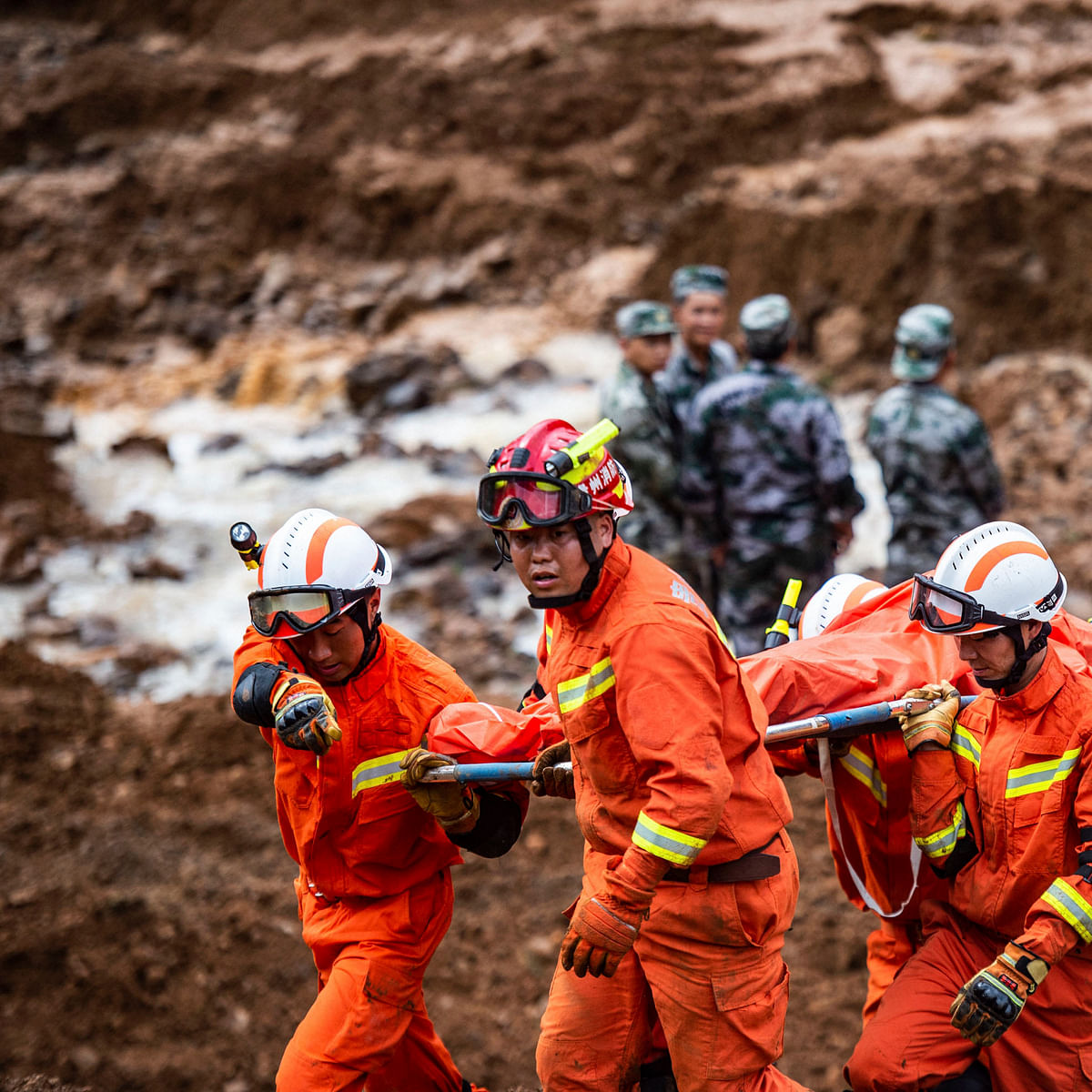 China: 16 killed in landslides, 30 missing