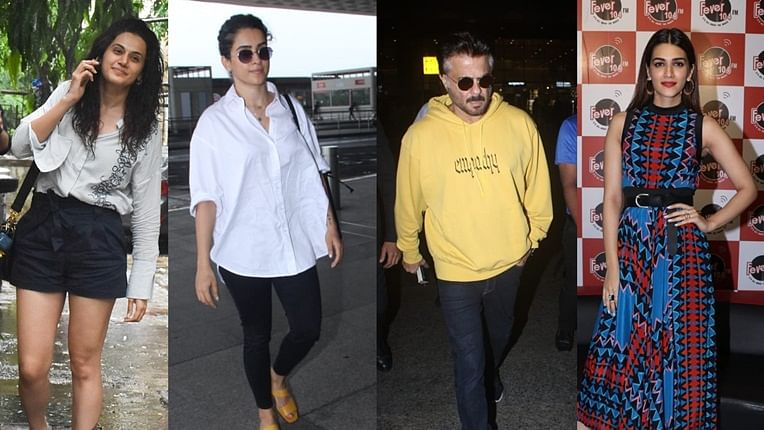 Paparazzi Diaries: Kriti Sanon, Anil Kapoor, and others spotted around the city