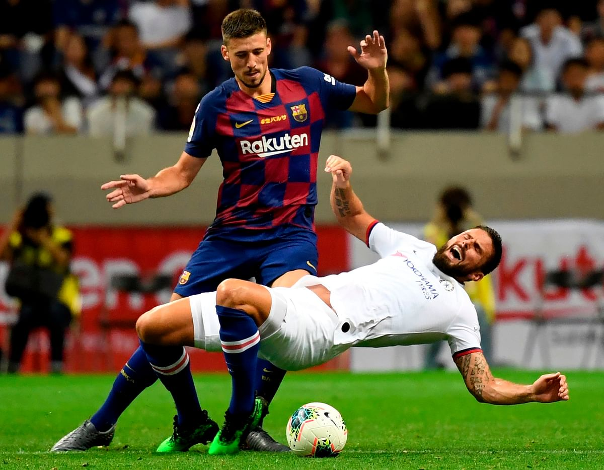 Barcelona lose 1-2 to Chelsea in Japan friendly