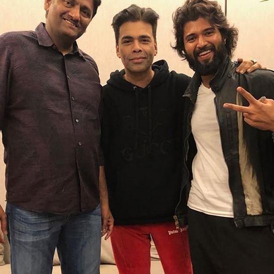 Karan Johar to produce Hindi remake of Vijay Deverakonda's 'Dear Comrade'