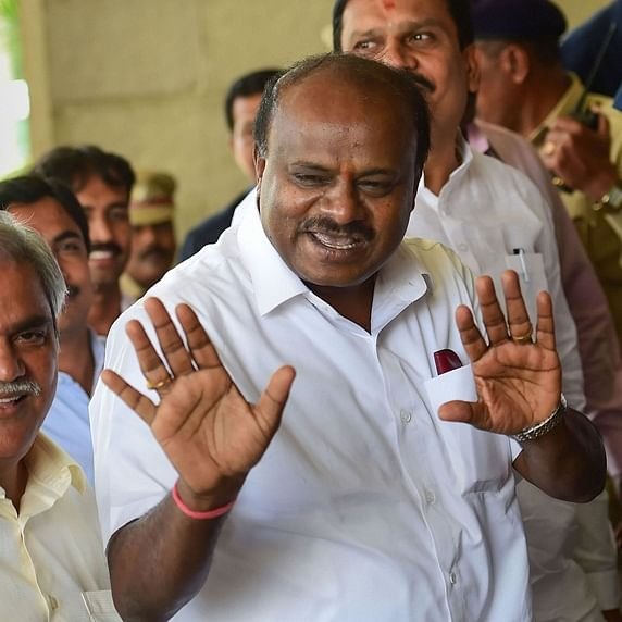 Karnataka crisis: JDS-Congress coalition government led by Kumaraswamy to face trust vote today