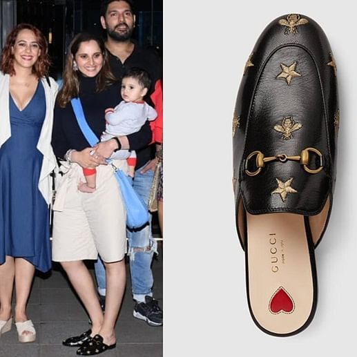 Sania Mirza sports Gucci slippers worth Rs 55,000!
