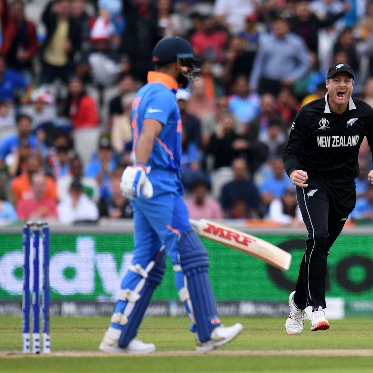 India vs New Zealand 1st Semi-Final: Captain Virat Kohli out for 1, Boult jolt for India