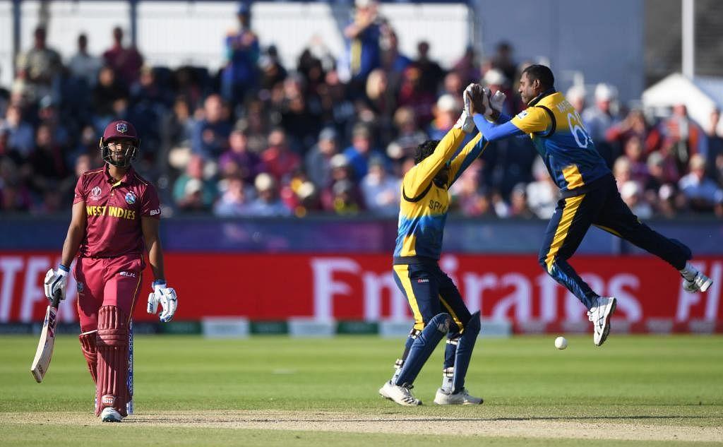 World Cup 2019: Fernando, Malinga shine as Sri Lanka beat Windies by 23 runs