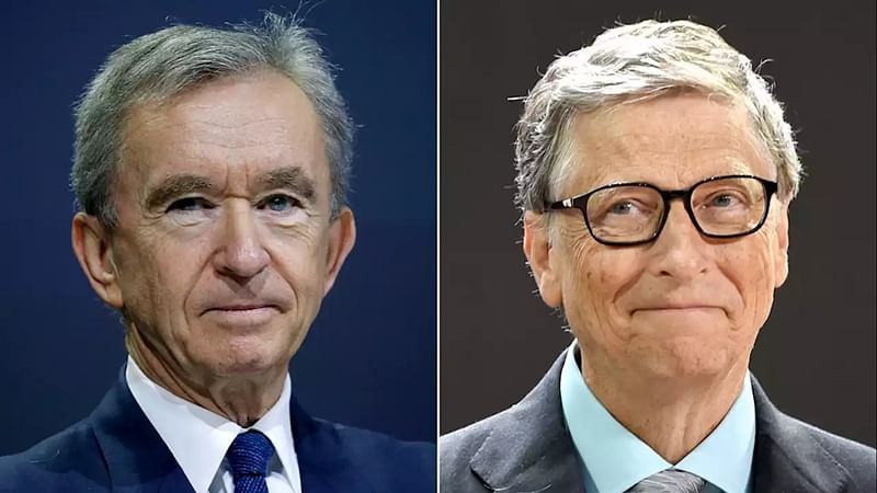 Louis Vuitton boss replaces Bill Gates as 2nd-richest