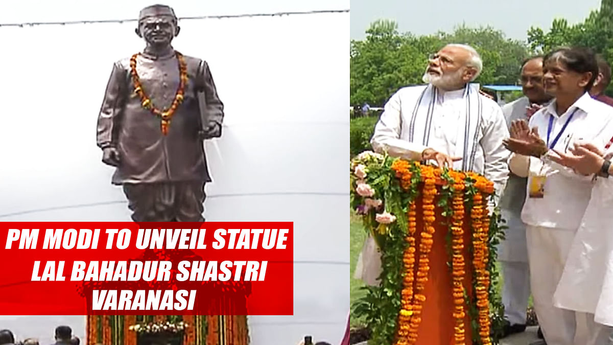 PM Modi to unveil statue of Lal Bahadur Shastri in Varanasi