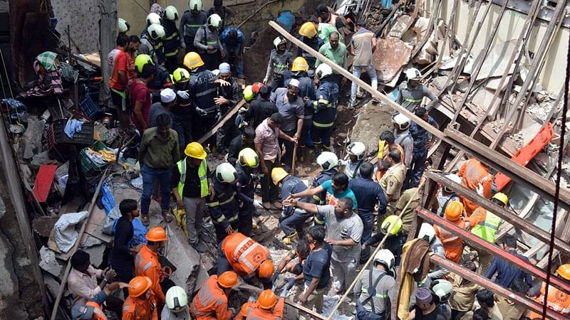 Mumbai building collapse: Death toll rises to 12, 9 injured after building collapses in Dongri