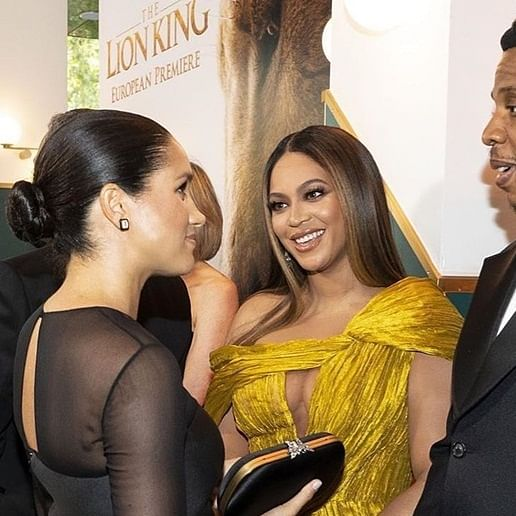 Beyonce bonds with Meghan Markle at 'The Long King' premiere