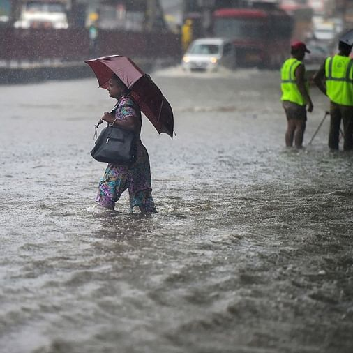 IMD issues 'red alert' as heavy rains pound Mumbai and suburbs