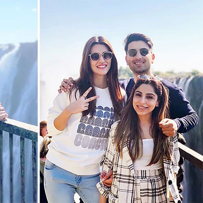 TRAVEL DIARIES: Kriti Sanon takes off for an exotic vacation to Zambia!