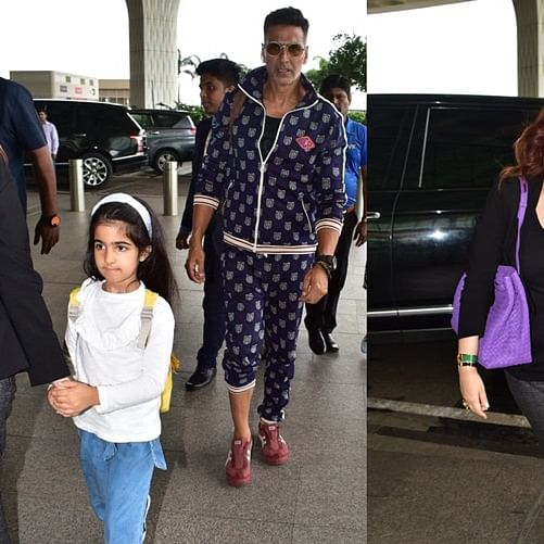 Rs 3.4 Lakh! Akshay Kumar, Twinkle Khanna's airport looks will make you feel poor