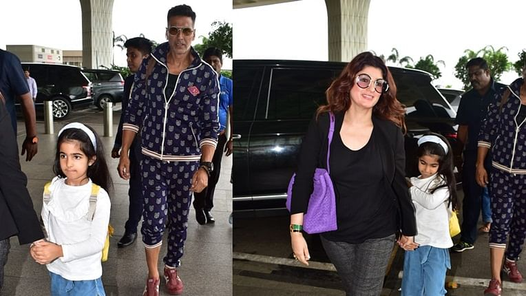 Rs 3.4 Lakh! Akshay Kumar, Twinkle Khanna's airport looks will make you feel poor