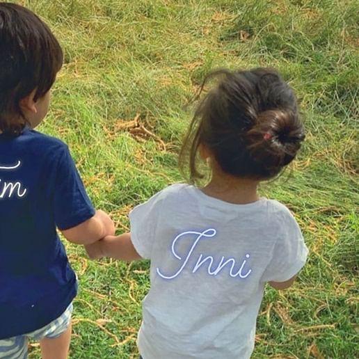 Pataudi Cousins Taimur and Inaaya spreading cuteness on the internet!