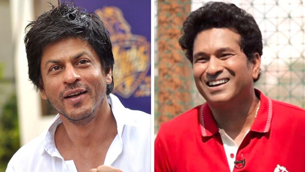 Shah Rukh Khan and Sachin Tendulkar Twitter banter has fans in a frenzy
