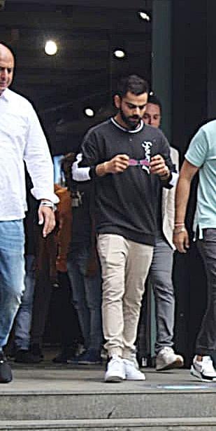 Virat Kohli spotted at Puma store in Khar