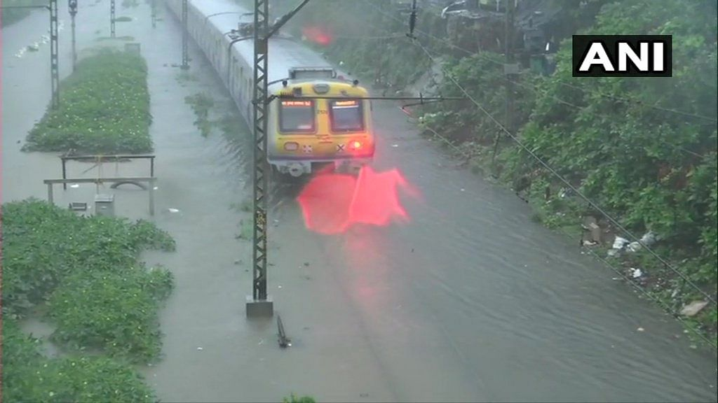 Mumbai: Trains rescheduled, railway tracks submerged due to heavy downpour