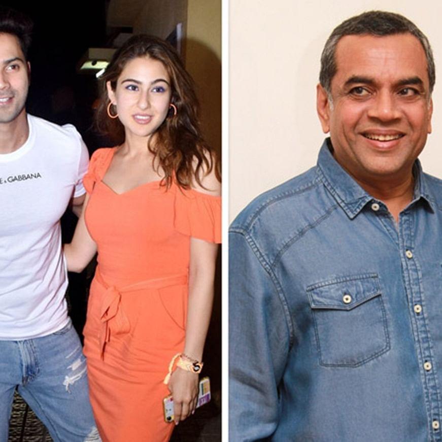 Paresh Rawal to join Varun Dhawan, Sara Ali Khan starrer 'Coolie No 1'