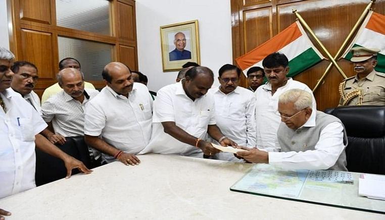K'taka govt falls after losing trust vote; CM Kumaraswamy submits resignation