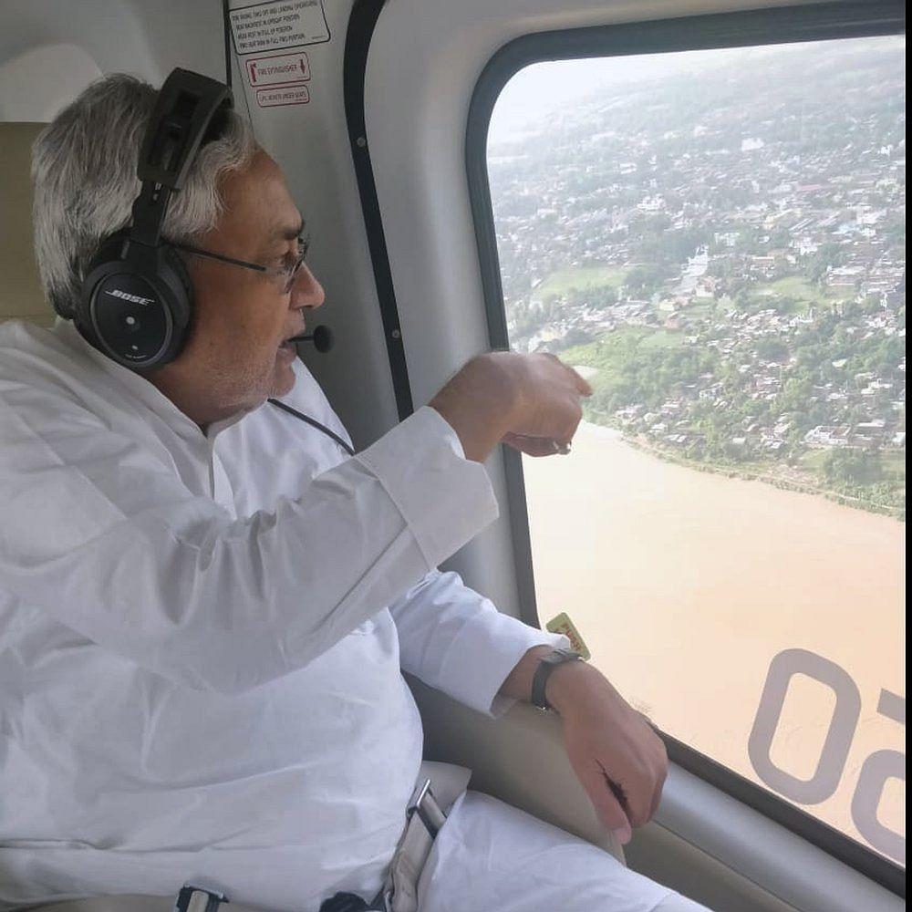 Bihar floods: Quizzed over flood, Nitish Kumar loses temper