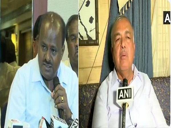 HD Kumaraswamy (L) and Ramalinga Reddy (R)