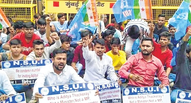 VC has become Shiv Sena's puppet: University students