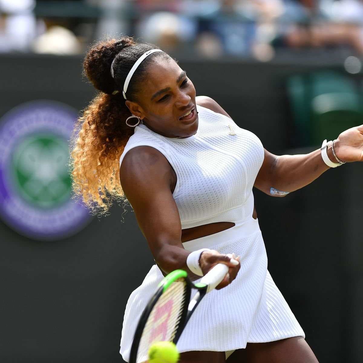 Wimbledon 2019: Serena Williams fined $10,000 for damaging court