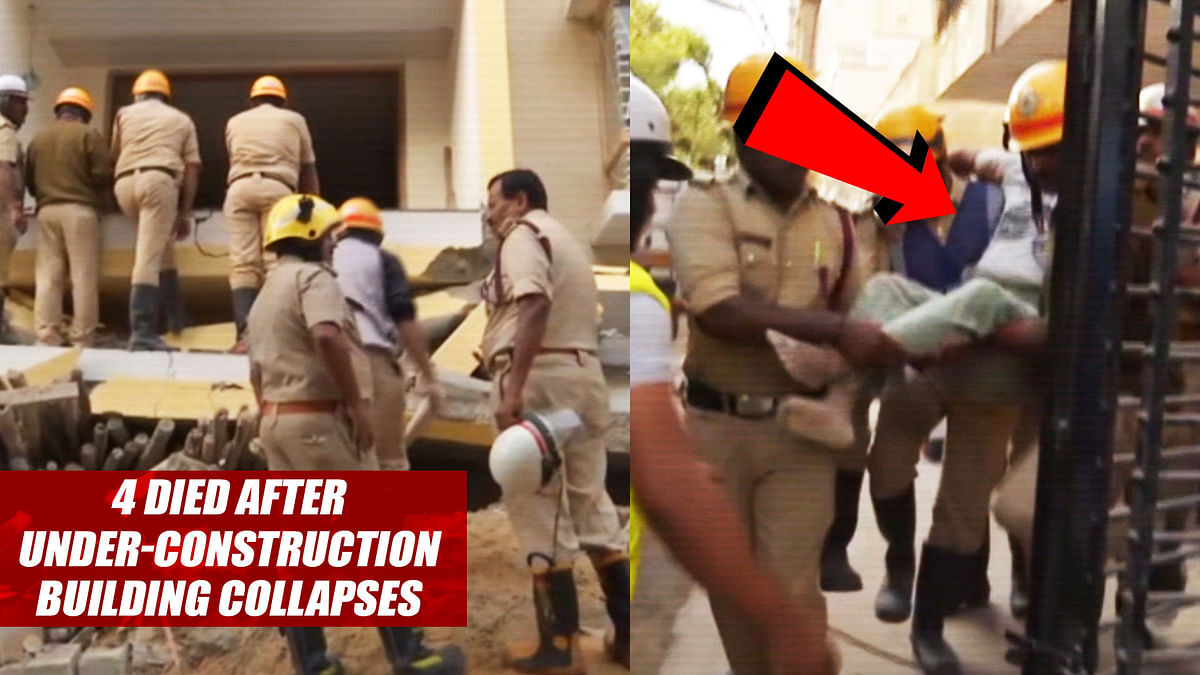 4 Died After Under-Construction Building Collapses In Bengaluru