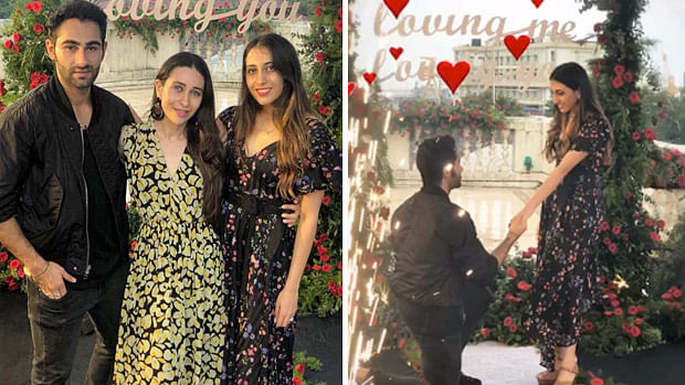 Karisma Kapoor congratulates groom to be, cousin Armaan Jain
