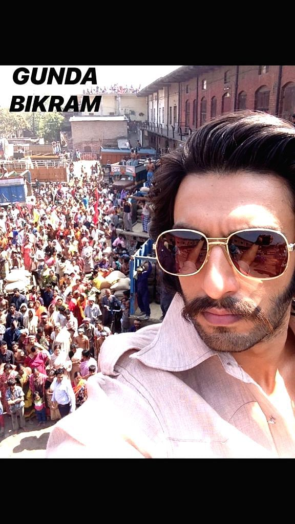Ranveer Singh ups his selfie game; captures entire career in selfies