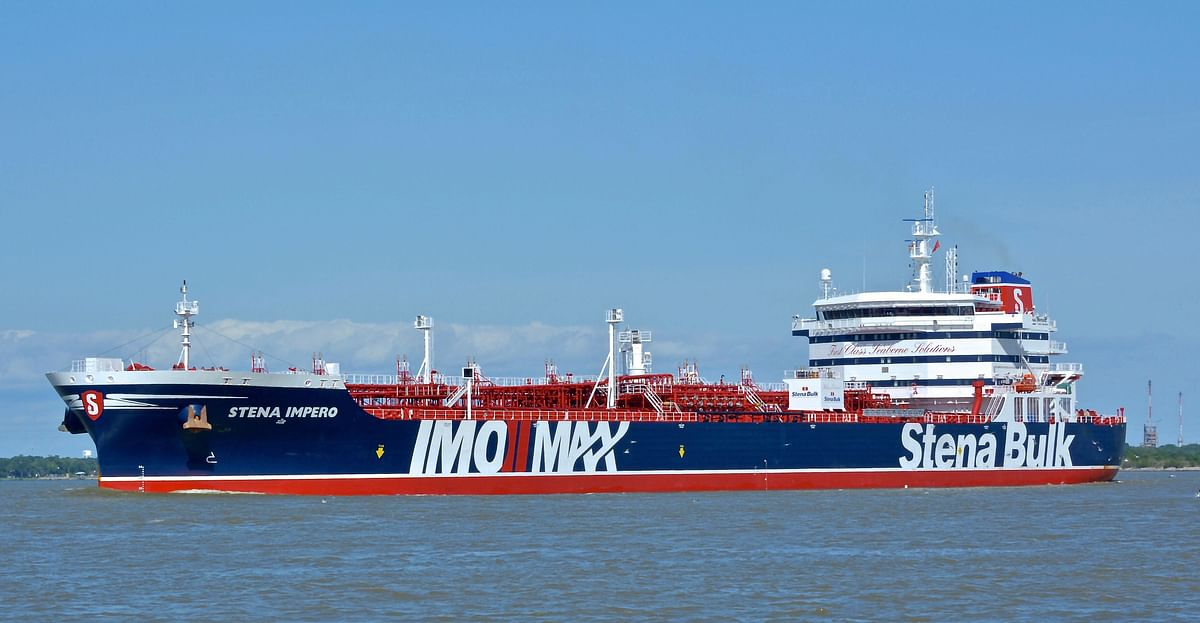 18 Indians aboard tanker seized by Iran, says MEA