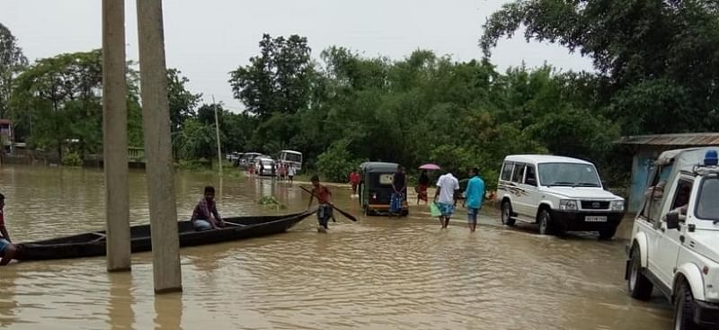 Assam flood situation serious, 62,000 in 8 districts affected