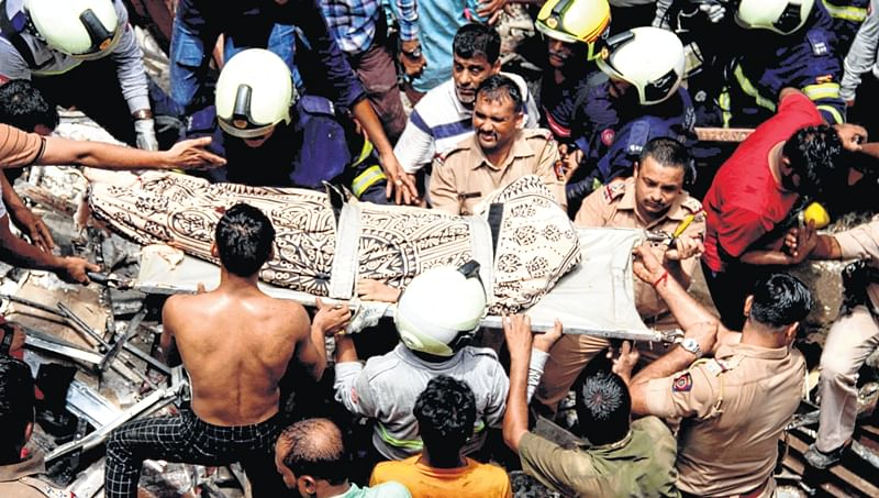 Dongri building collapse: Trustee and developer booked