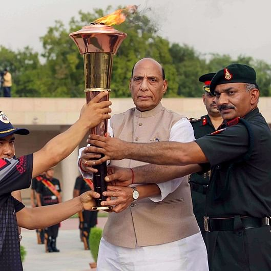 20th anniversary of 'Operation Vijay': Rajnath Singh ignites 'victory flame'