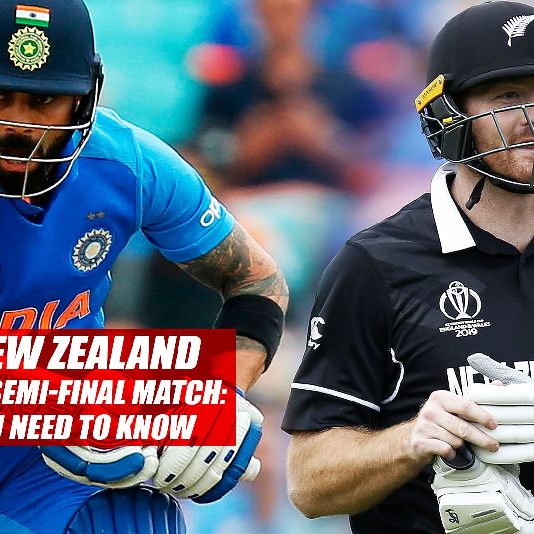 India vs New Zealand World Cup 2019 Semi-Final match: Everything you need to know