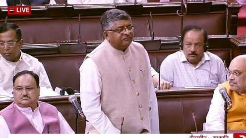 Triple Talaq bill tabled in Rajya Sabha by Ravi Shankar Prasad