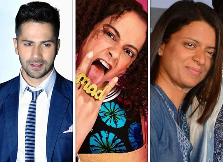 Check out Varun Dhawan's reply to Rangoli, who asked him to mention Kangana in his TWEET